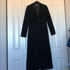 Halogen Black Trench Coat